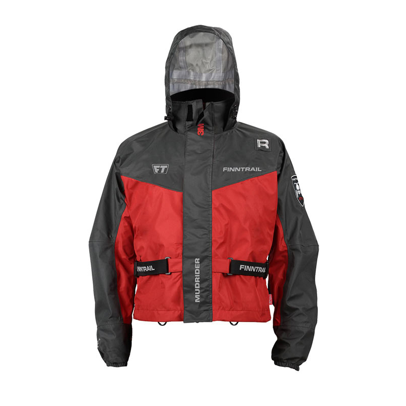 Куртка Finntrail Mud Rider 5300 Gray/Red (XXL)